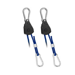 CarboAir Rope Ratchet Adjustable Light Hangers