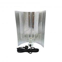 Omega CFL Euro Reflector Shade With UK 3 Pin Plug