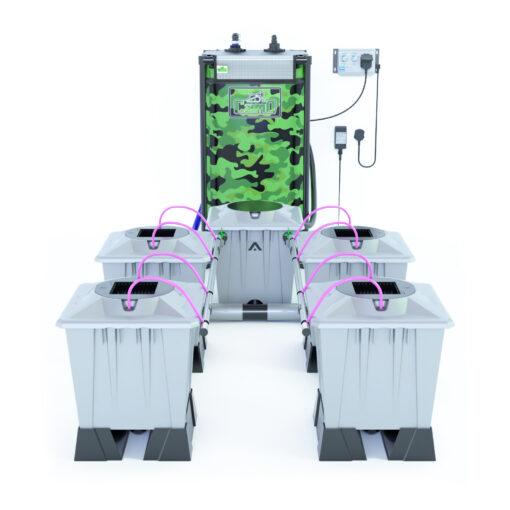 Alien Hydroponics Aero System Silver Series